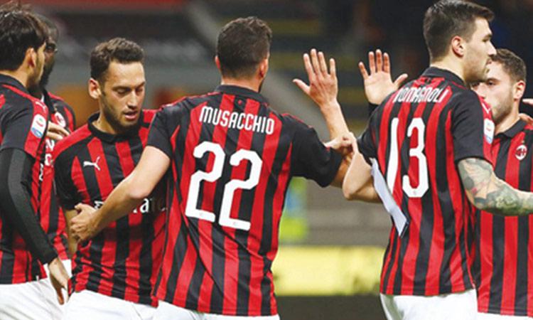 ฟุตบอล 12 ม.ค 64ฟุตบอลโคปา อิตาเลีย 2020/2021 เวลา 02:45 เอซี มิลาน พบ โตริโน่