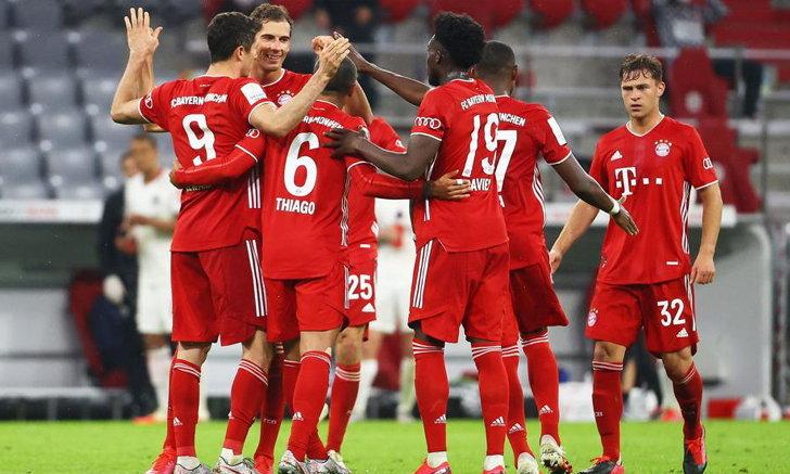 ทีเด็ดฟุตบอล 13 ม.ค 64ฟุตบอลเดเอฟเบ โพคาล เยอรมัน 2020/2021 เวลา 02:45 โฮลสไตน์ คีล พบ บาเยิร์น