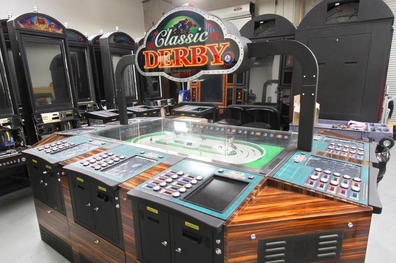 Sigma Derby หรือที่ใครๆ เรียกว่า เดอร์บี้  เกมแข่งขันม้า แบบกลไกไฟฟ้า