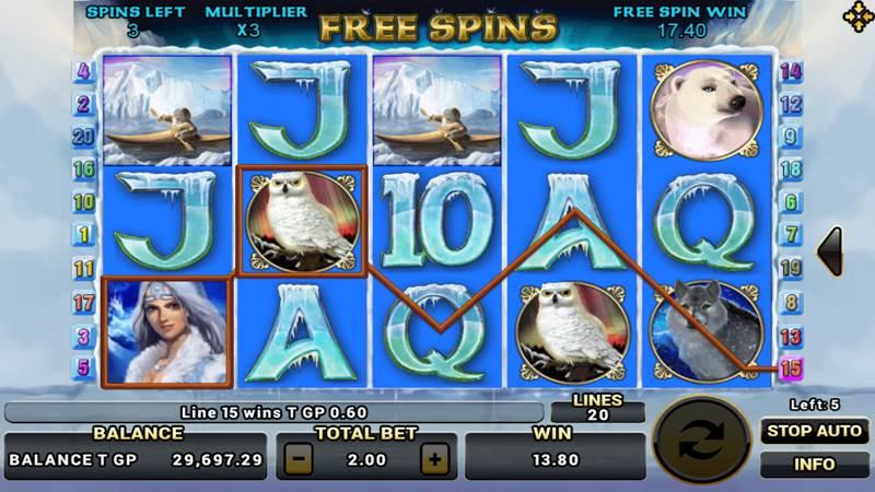 เกมสล็อต Arctic Treasure