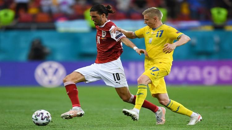 ยูเครน พบ ออสเตรีย ฟุตบอลยูโร 2020 คู่สุดเด็ด
