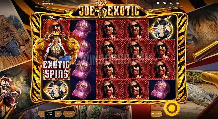 Joe Exotic เกมสล็อตออนไลน์ เล่นสนุก