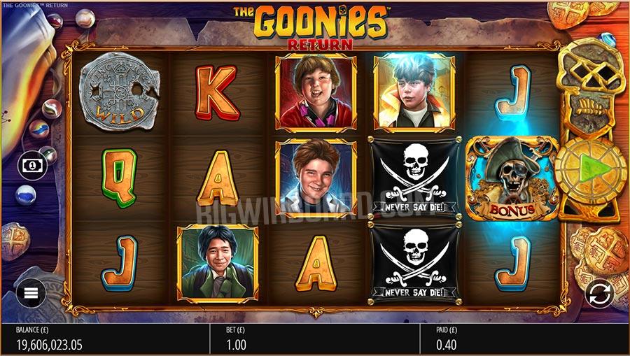 """The Goonies Return สล็อตล่ารางวัลในตำนานกับภาพยนตร์ """"The Goonies"""""""