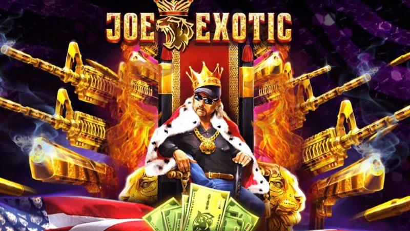 "Joe Exotic เกมสล็อต ตามรอย Netflix จากสารคดี ""Tiger King"" ทำเงินรางวัลสูง"