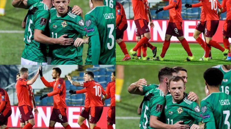 ไอร์แลนด์เหนือ พบ สวิตเซอร์แลนด์ ฟุตบอลโลก 2022 รอบคัดเลือก โซนยุโรป