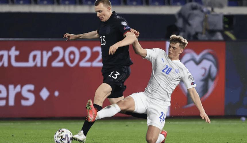 ไอซ์แลนด์ พบ เยอรมัน กับ ฟุตบอลโลก 2022 รอบคัดเลือก โซนยุโรป